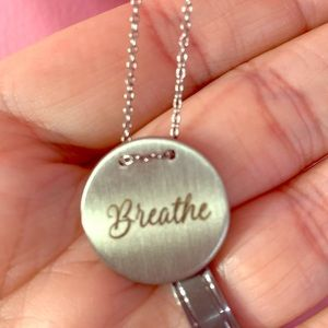 Keep Collective Dainty Breathe Necklace